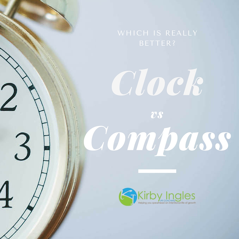 Clock vs. Compass: Are You Chasing Time in Your Life?