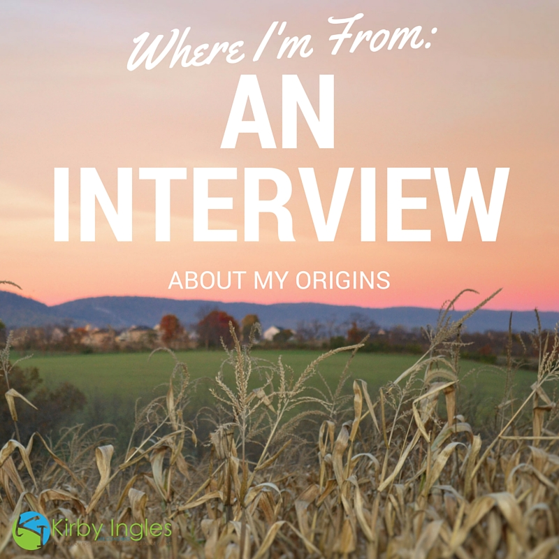 Where I'm From: An Interview About My Origins