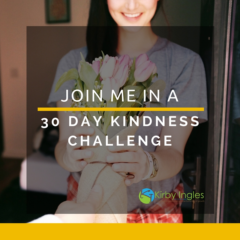 Join Me In A 30 Day Kindness Challenge